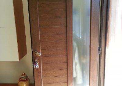 Portone di ingresso a Lainate (MI)